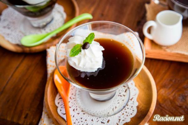 Рецепт Кофейное желе по японски