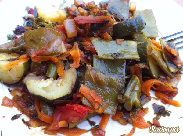 Рецепт Овощное рагу в мультиварке