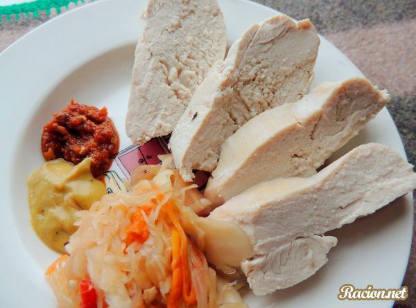 Рецепт Нежное куриное филе в мультиварке