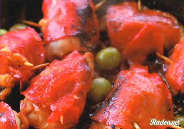 Рецепт Испанские куриные пакетики