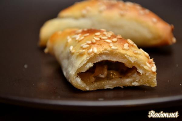 Рецепт Пирожки с грибами. Приготовление   блюда
