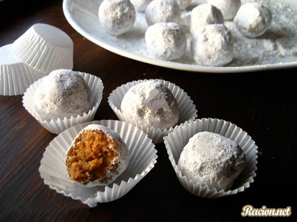 Рецепт Ореховые конфеты своими руками