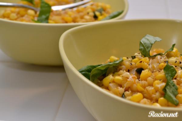Рецепт Ризотто с кукурузой