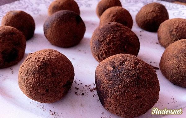 Рецепт Шоколадные шарики из кэроба