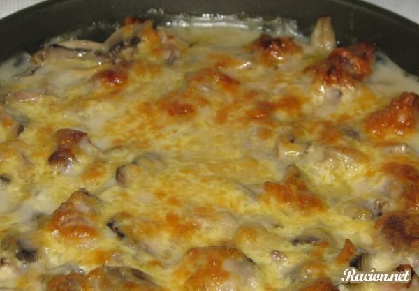 Рецепт Запеченная картошка с грибами