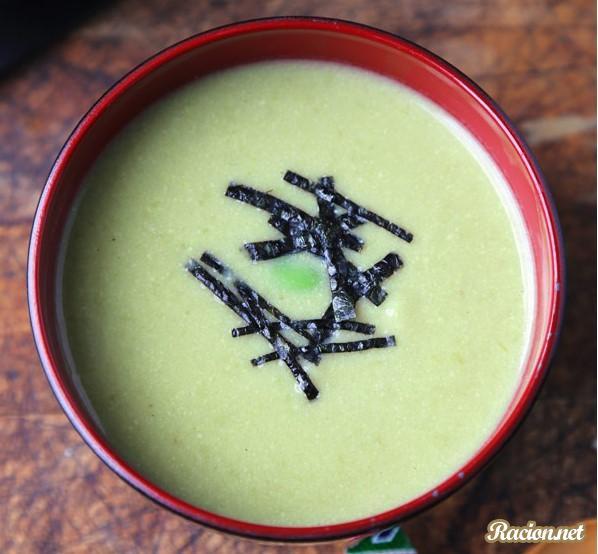 Рецепт Японский суп-пюре из эдамаме