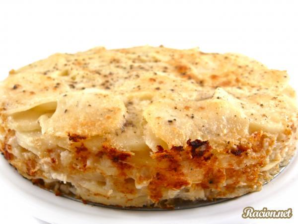 Рецепт Картофель с творогом