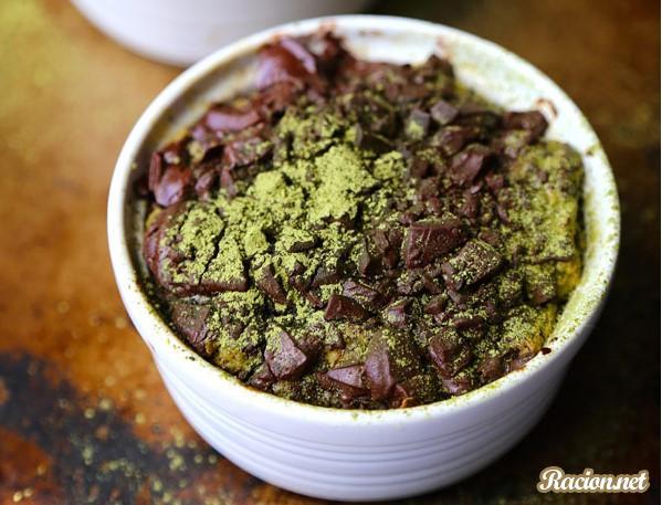 Рецепт Шоколадный пудинг из хлеба