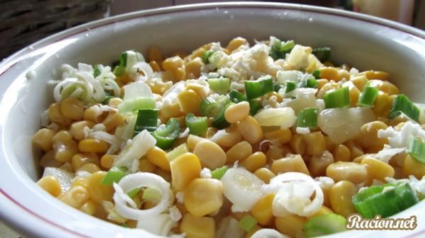 рецепт салата кукуруза фото