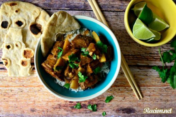 Рецепт Тайский красный карри из говядины