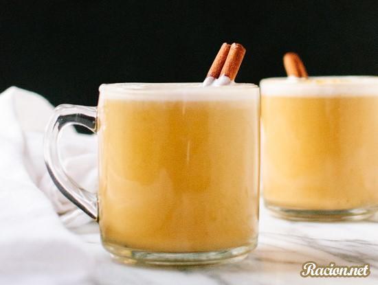 Рецепт Тыквенный чай латте