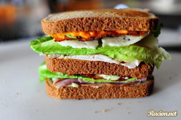 Рецепт Убийственный клубный сэндвич