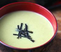Японский суп-пюре из эдамаме