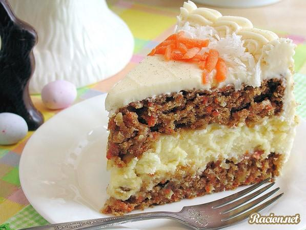 Рецепт Морковный торт-чизкейк