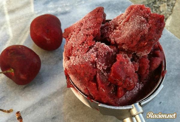 Рецепт Сорбет ягодный