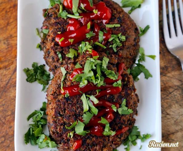 Рецепт Вегетарианские котлеты из фасоли