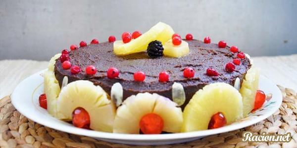 Рецепт Торт-мороженое с ананасом
