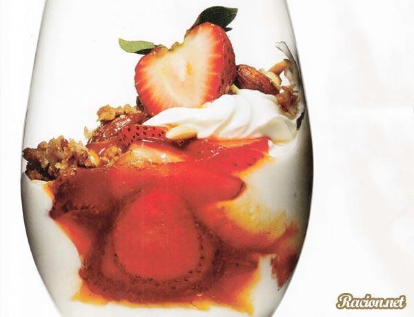 Рецепт Парфе с йогуртом