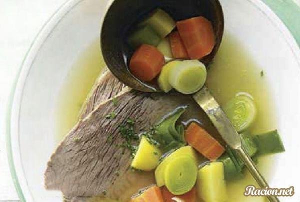Рецепт Суп с телятиной