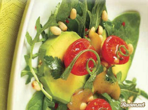 Рецепт Салат с авакадо