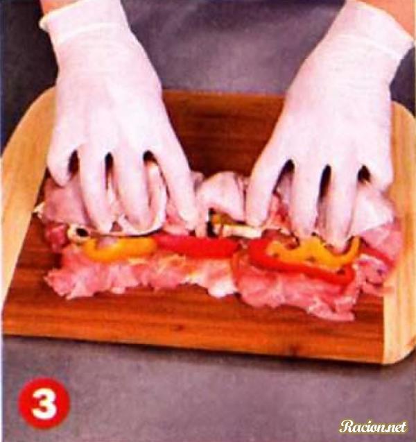 рецепт рулет из курицы в духовке
