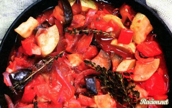 Рецепт Маринованные овощи по-гречески
