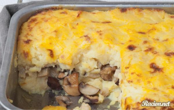 Рецепт Пастуший пирог с сельдереем и грибами