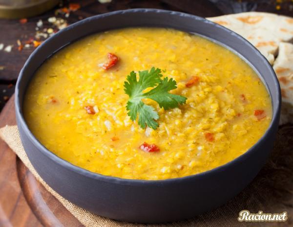 Рецепт Индийский чечевичный суп масурдал
