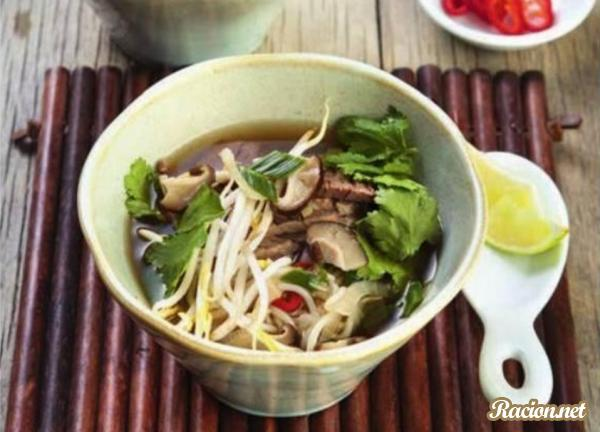 Суп фо бо рецепт в домашних условиях