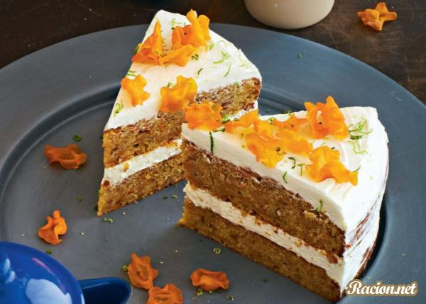 Морковный пирог рецепт домашний