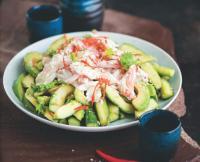 Салат из краба в азиатском стиле