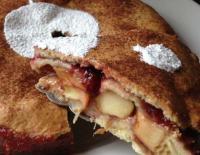 Пирог «Яблочный сюрприз»