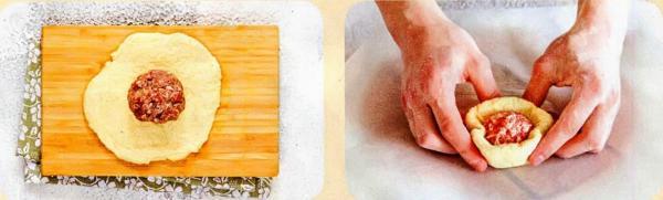 Как сделать вкусные беляши из фарша