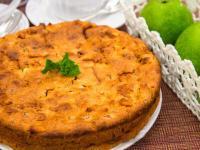 Пирог с яблоками от Анастасии Скрипкиной