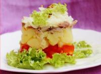 Салат с картошкой и курицей