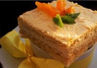 Песочный торт с курагой