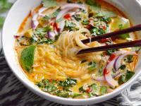 Тайский овощной суп карри