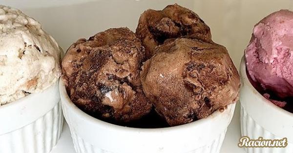 Рецепт Домашнее мороженое без сливок. Приготовление   блюда